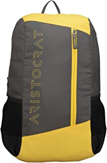 Aristocrat 17 Ltrs Grey Casual Backpack (BPZ2HGLW)