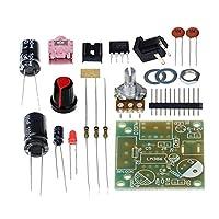 H HILABEE LM386超小型パワーアンプボードキット3V-12V低消費電力