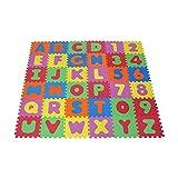 Knorrtoys 21004–Puzzle Matte, 86Piezas, Alfombra de Espuma Multicolor.