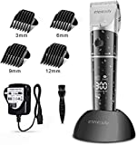 Hair Clippers Men, ETEREAUTY Professional Cordless Rechargeable Hair Trimmers Hair Cutting Kit