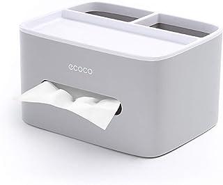 MHTECH Boîte à mouchoirs, boîte à mouchoirs en PVC, boîte Multifonction, Porte-Stylo, Porte-télécommande, Porte-mouchoirs,...