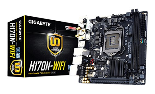 Gigabyte LGA1151 Intel H170 Mini-ITX DDR4 Motherboard GA-H170N-WIFI