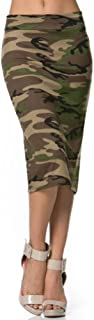 Women's Below The Knee Pencil Skirt - Made in USA
