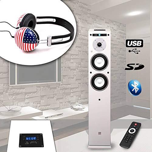 Spalte koda-center-wh USB/Bluetooth–/60W + Kopfhörer soundlab-a081USA