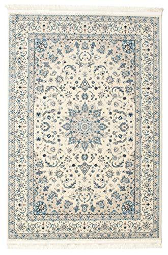 CarpetVista Teppich Nain Emilia, Kurzflor, 120 x 180 cm, Rechteckig, Orientalisch, Perser, Öko-Tex...