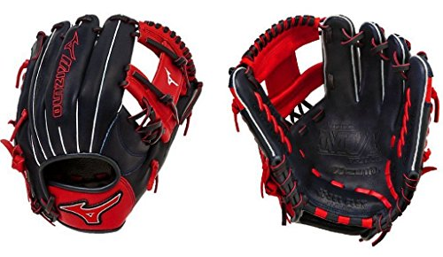 Mizuno GMVP1154SE4 MVP Prime SE Gloves, Navy/Red, Right Hand Throw