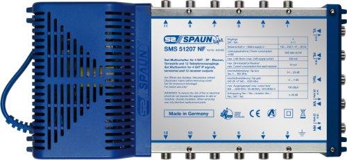 SPAUN SMS 51207NF SAT-MULTISCHALTER