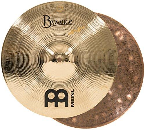 "MEINL Cymbals マイネル Byzance Brilliant Series ハイハットシンバル 14"" Derek Roddy Serpents Hihat B14SH-B 【国内正規品】"