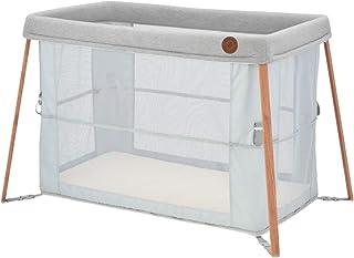 Maxi-Cosi Iris 2-in-1 Reisebett Baby, Babybett für unterwegs, für Neugeborene bis hin zu Kleinkinder, auch als Laufstall nutzbar, ab der Geburt bis ca. 3 Jahre, essential grey