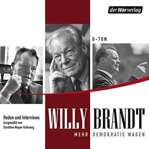 Mehr Demokratie wagen: Reden und Gespräche Titelbild
