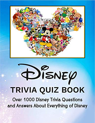 Disney: Trivia Quiz Book (English Edition)