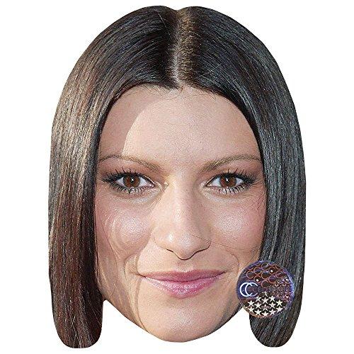 Laura Pausini Maschere di persone famose, facce di cartone
