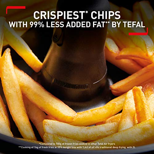 An image of the Tefal ActiFry Advance Snacking FZ729840 Health Air Fryer, Snacking basket, Black, 1.2kg, 6 portions