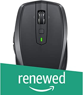 Logitech MX Anywhere 2S Wireless Mouse with FLOW Cross-Computer Control and File Sharing for PC and Mac (Renewed)