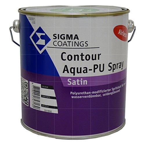 Sigma Contour Aqua-PU Spray Satin 2,5L (LTA)