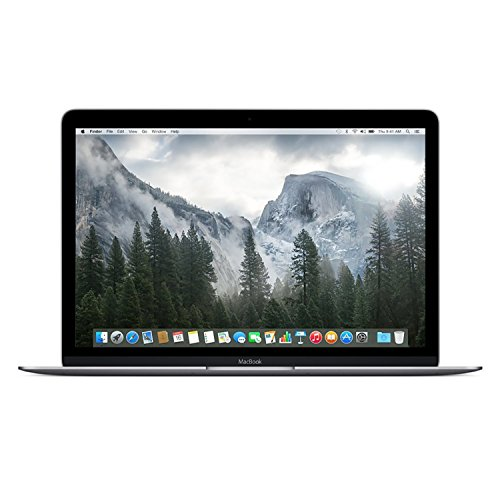 MacBook MJY42LL/A 12-Inch Laptop with Retina Display (Space Gray, 512 GB) OLD VERSION (Refurbished)
