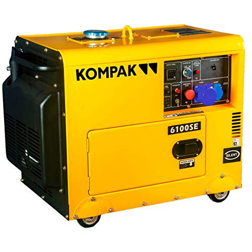 VORVERKAUF!! KOMPAK Diesel 6.9 kVA DK6100SE-3 400V Stromaggregat Stromerzeuger Profi