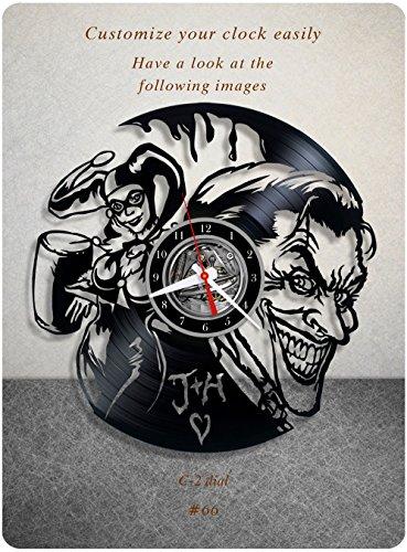 51p4pUOd4BL._SL500_ Harley Quinn Clocks