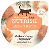 Rachael Ray Nutrish Natural Wet Cat Food, Chicken & Shrimp Pawttenesca Recipe, 2.8 Ounce Cup (Pack of 12), Grain Free