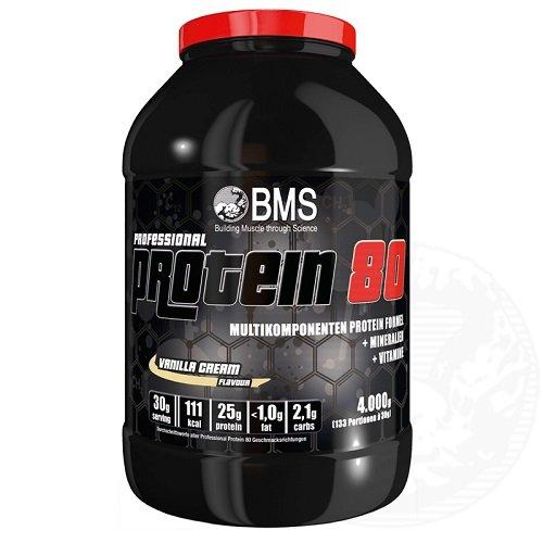 BMS Professional Protein 80 4000g Eimer Vanille
