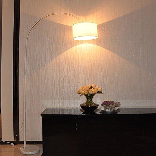 ZIXUANJIAXL Stehende Stehlampen Stehleuchte Fischen Lichter Wohnzimmer Schlafzimmer Arbeitszimmer Kreative Mahjong Vertikal Leuchten Stehleuchten (Color : White)