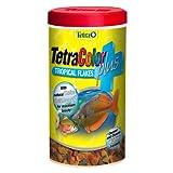 Tetra 77248 TetraColor PLUS Tropical Flakes,...