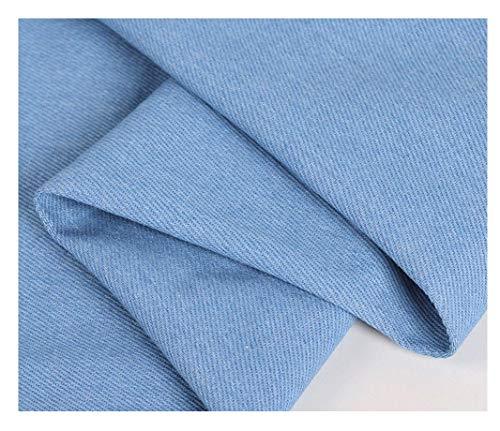 Denim tissu Tissu Denim Denim Bleu Foncé 100% Coton Denim Tissu Denim Lavé Pour Vêtements Artisanat Tapisserie D'ameublement Pot De Fleur Décoration Et Nappe Couture Tissu Largeur 150cm 1 Pièce=100cm