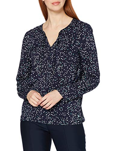 Cecil Damen 342294 Bluse, deep Blue, X-Small