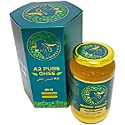 Organic Grass-Fed Ghee - Clarified Butter using 400+ year old Ayurvedic Bilona method, Unsalted Butter, from A2 Gir Cow Milk, Perfect for Paleo, Keto, Lactose & Gluten Free Diet - 32 Fl Oz