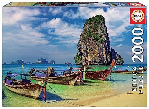 Educa - Krabi, Tailandia Puzzle, 2000 Piezas, Multicolor (18007)