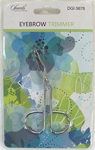 Standard di qualità in acciaio INOX sopracciglio clip pinzette forbici per sopracciglia grande spessore Wid strumento di bellezza