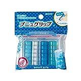 クツワ STAD 鉛筆グリップ 香るプニュグリップ ソーダ 10パックセット RB019H-10P