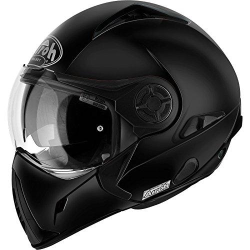 Airoh Motorrad Helm J106, Schwarz Matt, 62