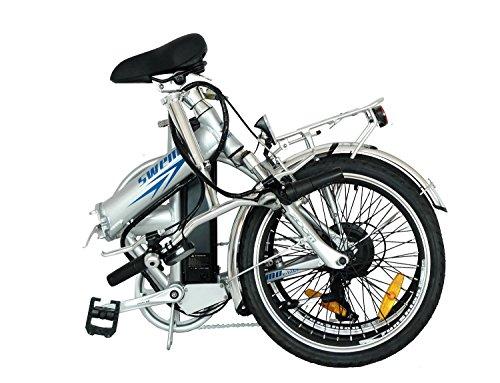 swemo 20 Zoll Alu Klapp E-Bike/Pedelec SW100 (Silber) Bild 3*