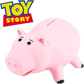 PHOCAS HairPhocas Cute Pink Pig Money Box Plastic Piggy Bank for Kid's Birthday Gift with Box