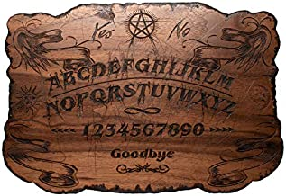 Beatus Lignum Ouija Board in Walnut Wood - Hand Burned Limited Edition!! - 13.5 x 9.5 in. 1/4 Thick (Not Jointed) Customizable