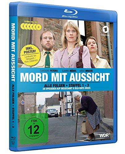 Mord mit Aussicht - Staffel 1-3 (Special Edition inkl. Landkarte als A2-Poster) [Blu-ray]
