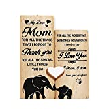 Valporia Gifts for Mom Mom Gifts Birthday Gifts for Mom Mom Gifts from Daughters Mothers' Day Gifts Candle Holder