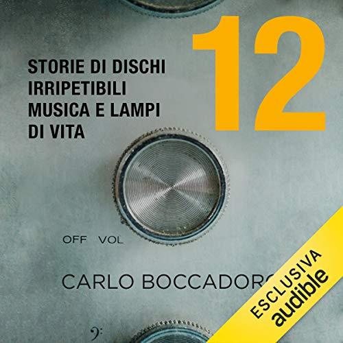12 - Storie di dischi irripetibili, musica e lampi di vita audiobook cover art