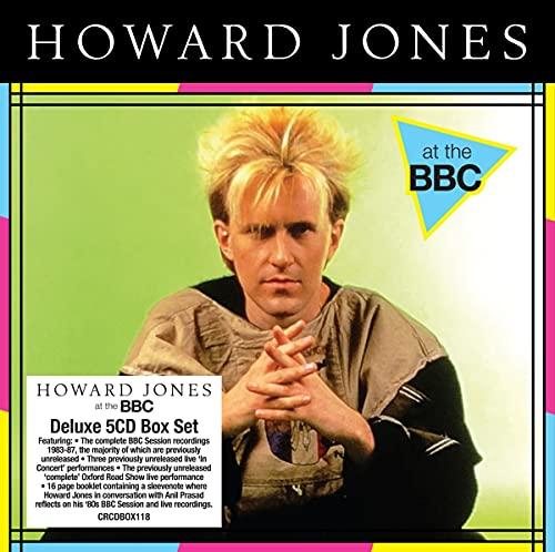 Jones,Howard: At the BBC (5cd Clamshell Box) (Audio CD (Box Set))