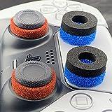 GOW 6 x Aim Assist Ringe - passend für PS5 Controller, PS4, Xbox, PC und Zubehör Joysticks. Genaues Zielen/besseres Aiming/Millimeter genaue Abstimmung - Playstation 5 Aiming Ringe (Set)