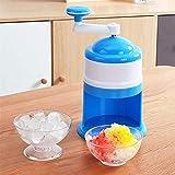 Summer Eiscrusher Maschine, Schneekegelmaschine, tragbarer Hand-Edelstahl-Eisbrecher, für den Heimgebrauch Mini-Eisschleifer für Kinder