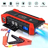 Best Jump Starters - SANWAN 20000mAh Car Battery Jump Starter, Portable Outdoor Review