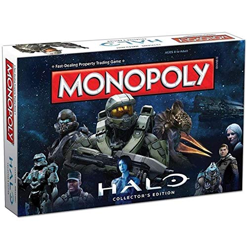 USAOPOLY Halo Monopoly Board Game