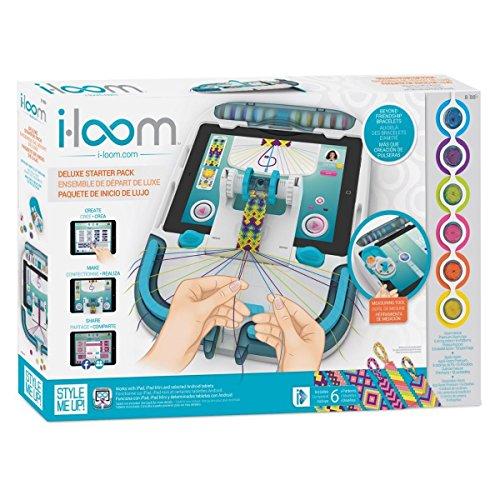 Imaginarium 87191 iloom - Deluxe Starter Pack - Friendship Bracelet Making Kit for Girls Tweens and Teens- Blue