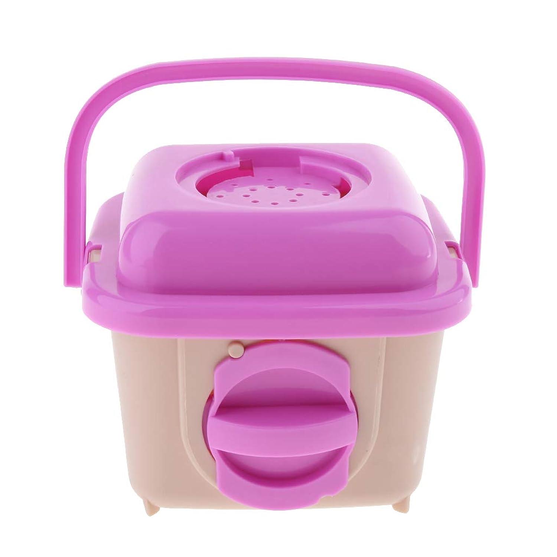P Prettyia 小動物用おでかけキャリー ハムスター用キャリーケージ キャリーバッグ 移動 旅行 携帯用 ピンク