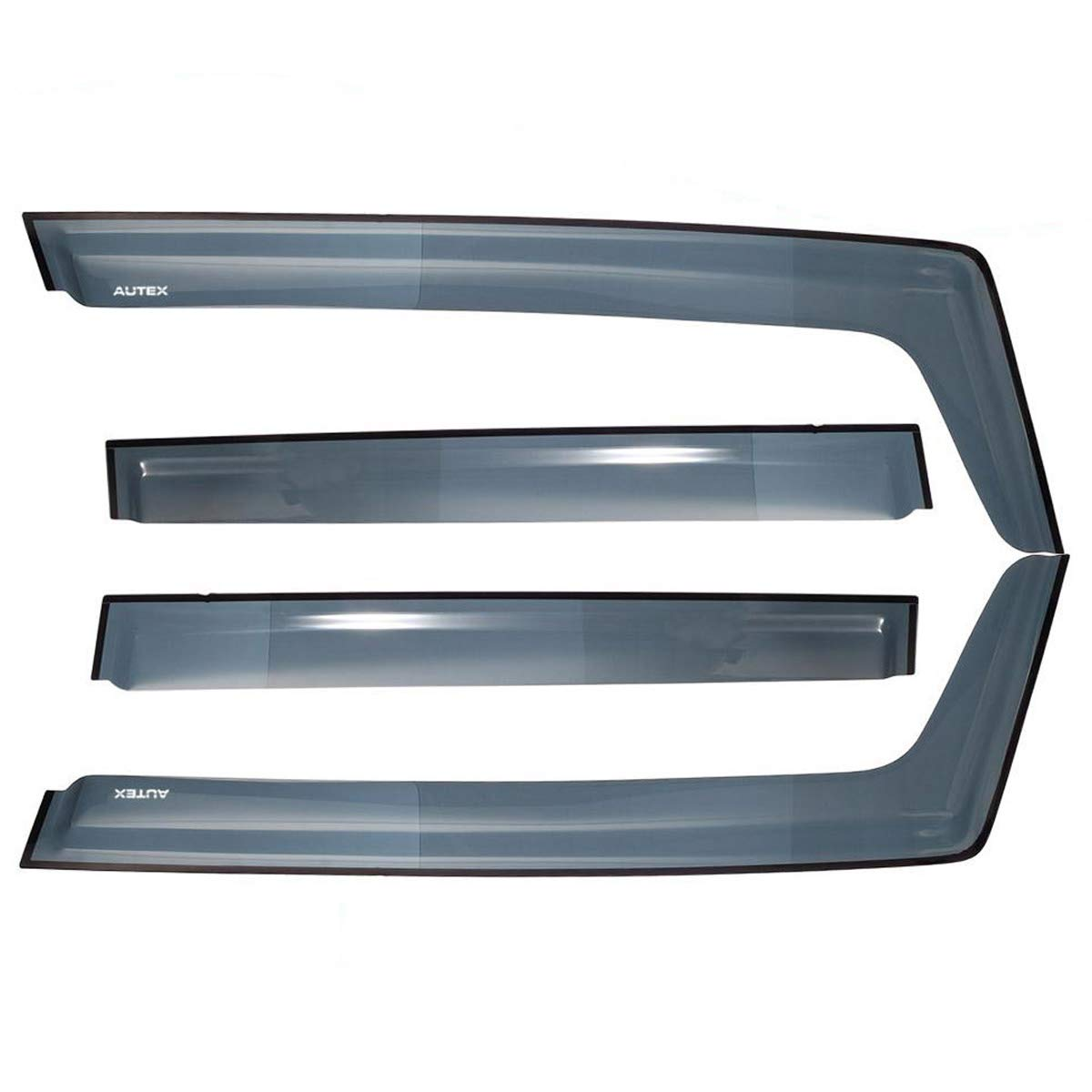 IN CHANNEL RAIN GUARDS FOR JEEP RENEGADE FITS 2015-2016 4PC SET