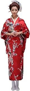 Women's Traditional Japanese Kimono Style Robe Yukata Costumes