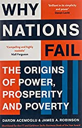 Cover of Why Nations Fail by Daron Acemoglu, James A. Robinson