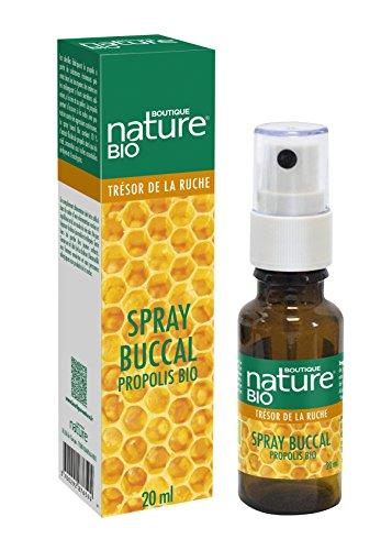 Boutique Nature - Complément Alimentaire - Spray Buccal Propolis BIO - Flacon de 20 ml - Protège et Renforce contre les agressions extérieures